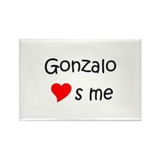 Cool Gonzalo Rectangle Magnet