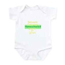 Homeschooling infant onesie
