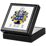Bertoli Family Crest Keepsake Box