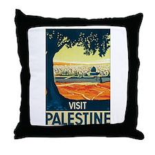 Palestine Holy Land Throw Pillow