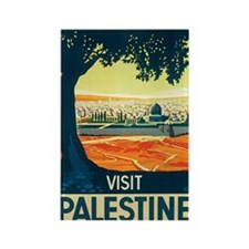 Palestine Holy Land Rectangle Magnet