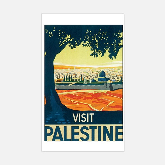 Palestine Holy Land Rectangle Decal