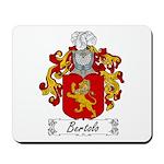 Bertolo Family Crest Mousepad