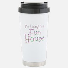 Fun House Stainless Steel Travel Mug