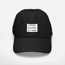 Live Love Fish Baseball Hat