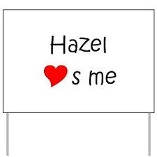 Hazel Yard Sign