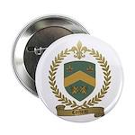 CORDEAU Family Crest Button