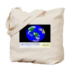Citizen of World / Recycle Tote Bag