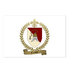 CORDON Family Crest Postcards (Package of 8)