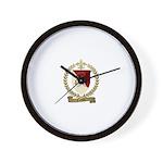 CORDON Family Crest Wall Clock