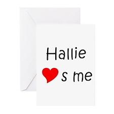 Cute Hallie Greeting Cards (Pk of 10)