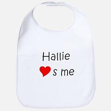 Cute Hallie Bib