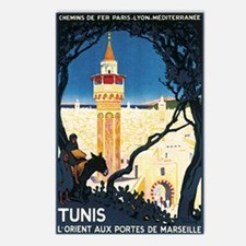 Tunis Tunisia Postcards (Package of 8)
