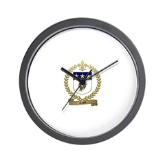 COSTE Family Crest Wall Clock
