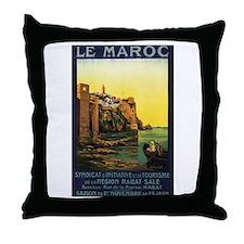 Morocco Maroc Throw Pillow