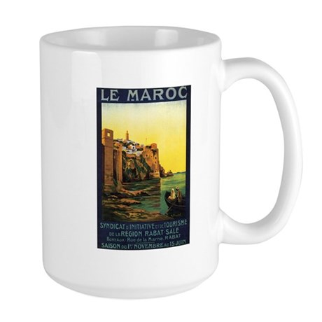 Morocco Maroc Large Mug