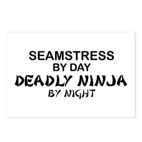 Seamstress Deadly Ninja by Night Postcards (Packag