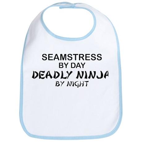 Seamstress Deadly Ninja by Night Bib