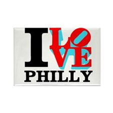Funny Philly Rectangle Magnet (10 pack)