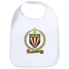 COULOMBE Family Crest Bib