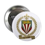 COULOMBE Family Crest Button