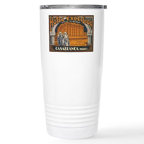 Casablanca Morocco Stainless Steel Travel Mug
