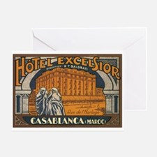 Casablanca Morocco Greeting Card