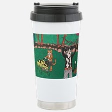Spring Gardening Stainless Steel Travel Mug