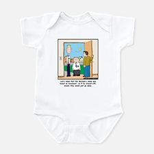 Tyrannomissionary Infant Bodysuit