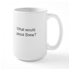 jesus brew large mug