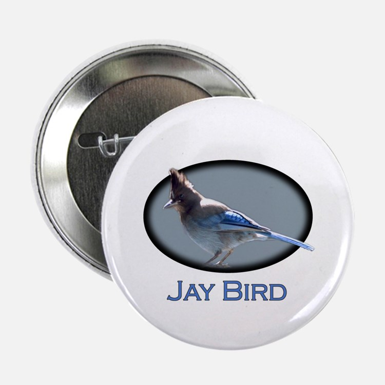 Jay Bird Button