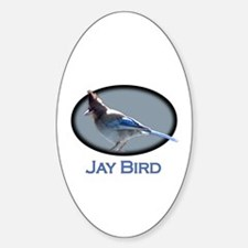 Jay Bird Oval Decal