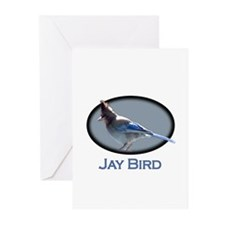 Jay Bird Greeting Cards (Pk of 10)