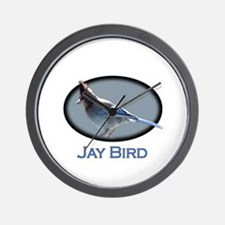 Jay Bird Wall Clock