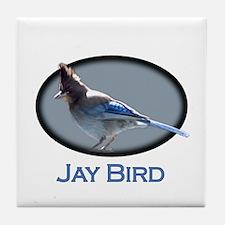 Jay Bird Tile Coaster