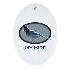 Jay Bird Keepsake (Oval)