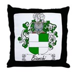 Bianchi Family Crest Throw Pillow