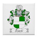 Bianchi Family Crest Tile Coaster