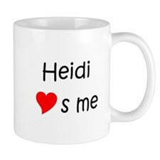 Cute Heidi love (heart) s me Mug