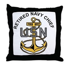 Unique Retired navy wife Throw Pillow