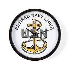 Unique Us navy Wall Clock