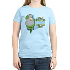 Can You Fly Quaker Parrot T-Shirt