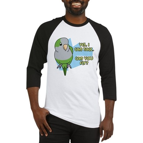 Can You Fly Quaker Parrot Baseball Jersey