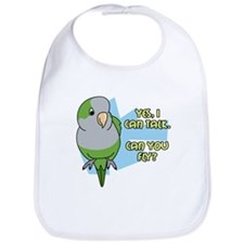 Can You Fly Quaker Parrot Bib
