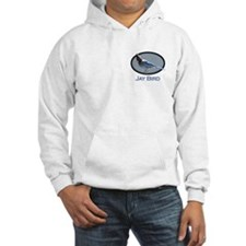 Jay Bird (small front large back) Hoodie