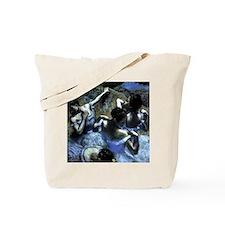 Degas' Blue Dancers Tote Bag