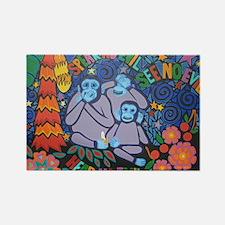 No Evil Rectangle Magnet (100 pack)