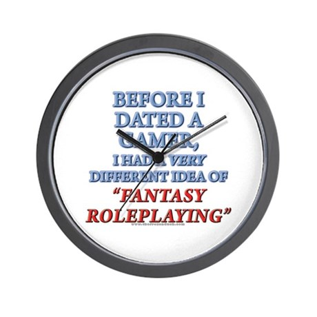 Fantasy Roleplaying Wall Clock