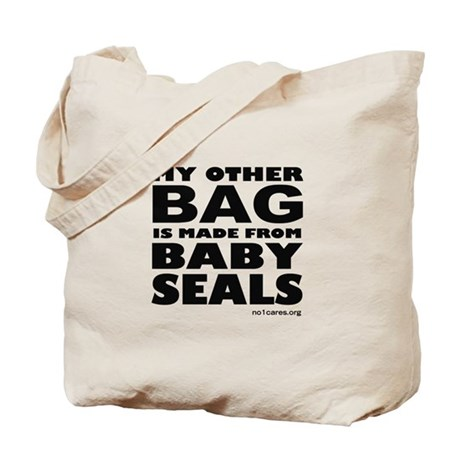 Made from baby seals