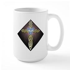 Triple Lunar Celtic Cross Mug